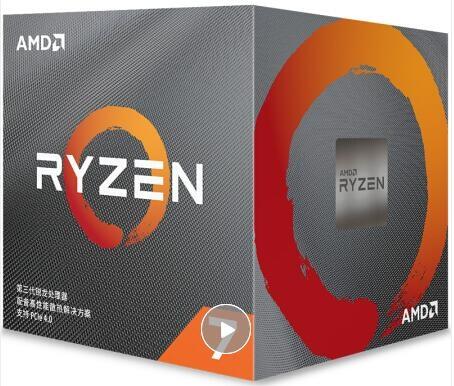 AMD 锐龙7 3700X 处理器 (r7)7nm 8核16线程 3.6GHz 65W AM4接口 盒装CPU