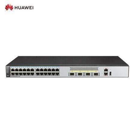 华为(HUAWEI)企业级交换机 企业级三层24口千兆以太网+4口千兆光 网络交换机-S5720S-28P-SI-AC